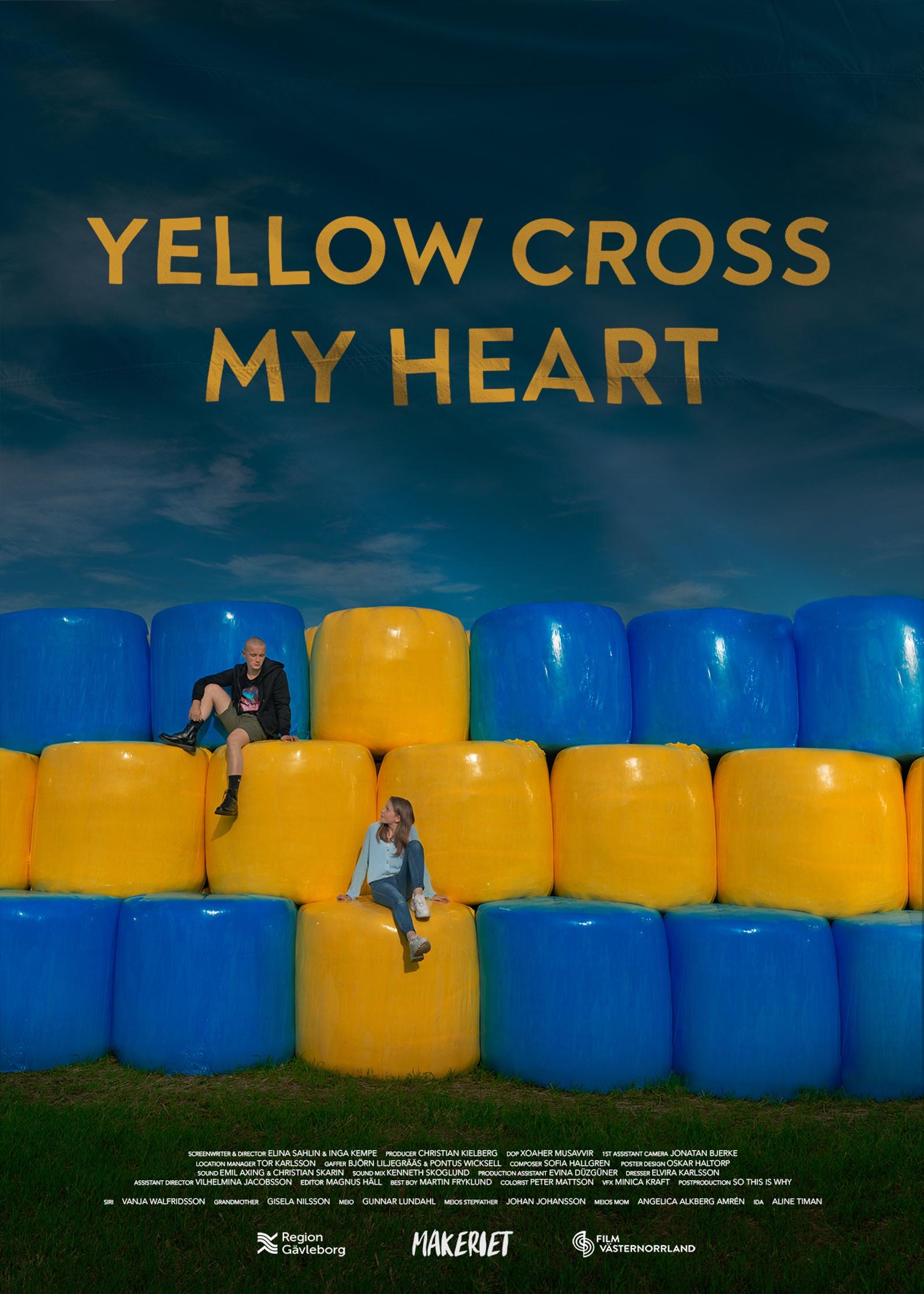 Yellow Cross My Heart