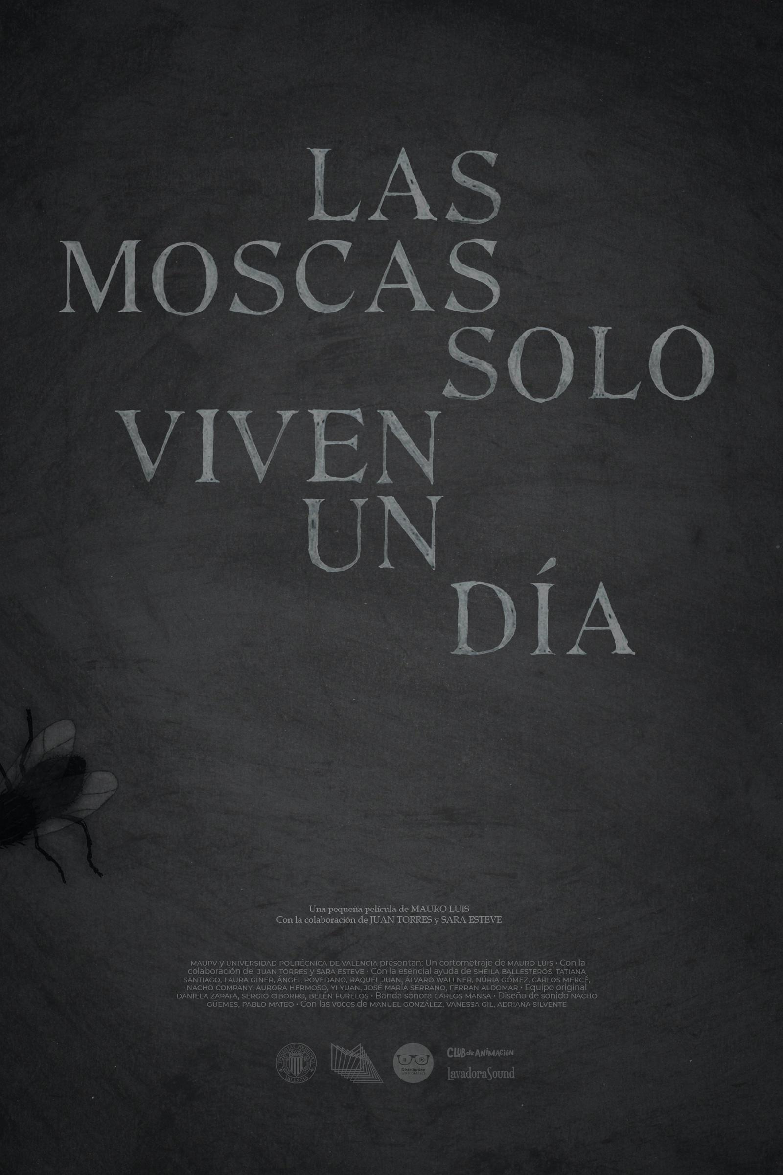 Las moscas solo viven un día (Flies only live one day)