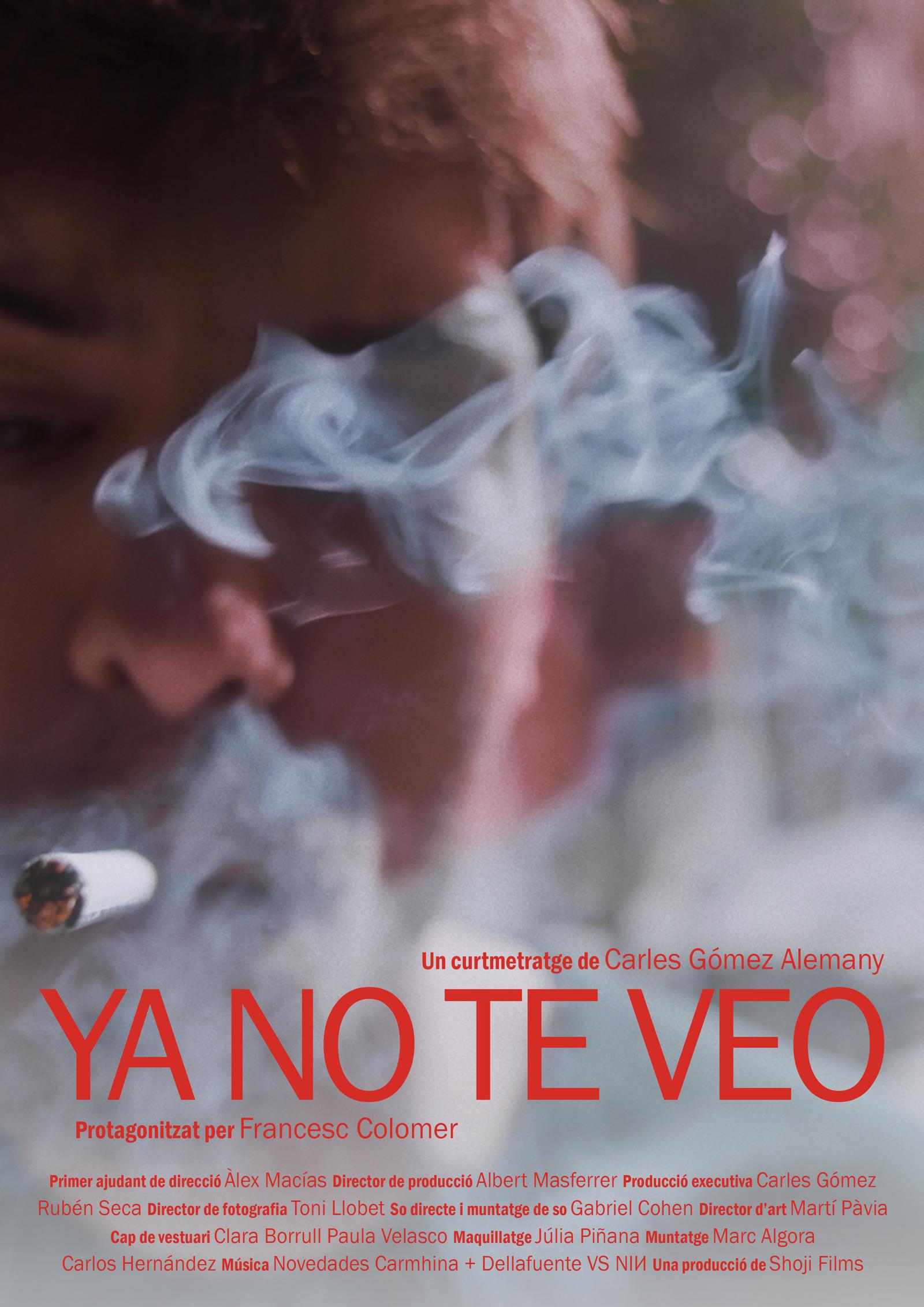 Ya no te veo (I don't see you anymore)